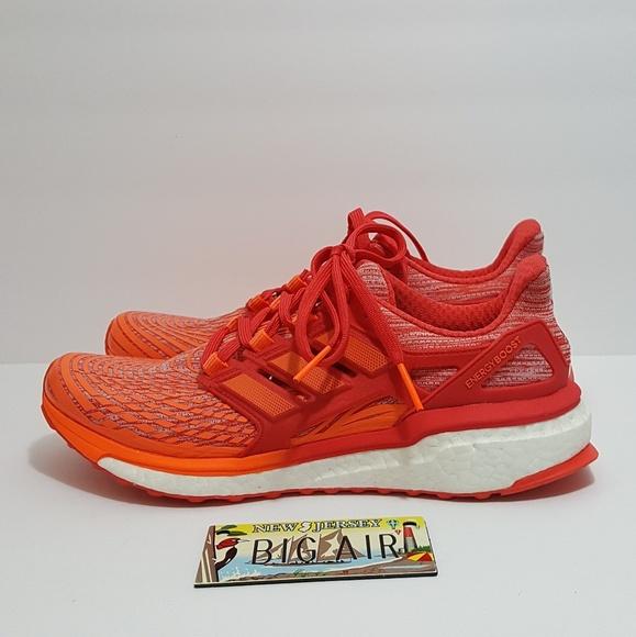 adidas Shoes - Adidas Energy Boost size 9 Red/Orange